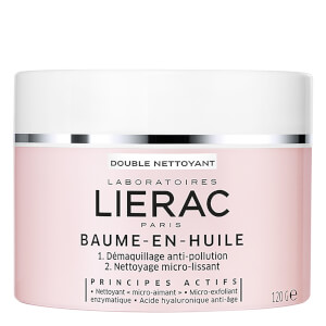 Очищающий бальзам-масло Lierac Double Nettoyant Double Cleanser Balm-in-Oil