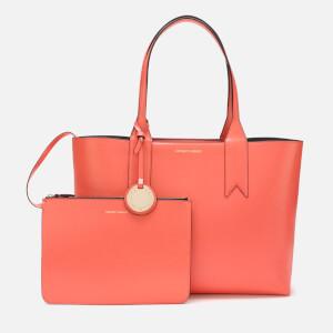 Emporio Armani Women's Shopping Bag - Salmone/Pietra