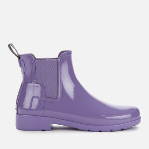 Hunter Women's Original Refined Gloss Chelsea Boots - Parma Violet