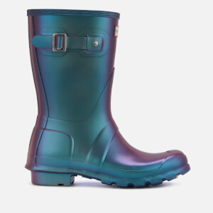 Hunter Women's Original Short Nebula Wellies - Wave Blue