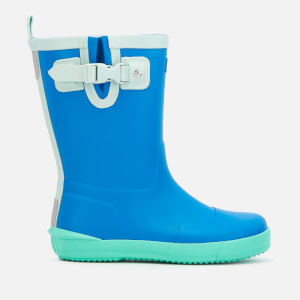Hunter Kid's Davison Wellies - Bucket Blue