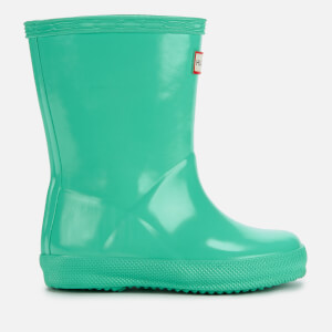 Hunter Toddler's First Classic Gloss Wellies - Ocean Swell