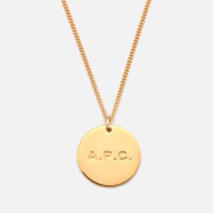 A.P.C. Women's Aline Necklace - Gold