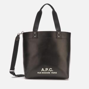 A.P.C. Women's Eddy Tote Bag - Black