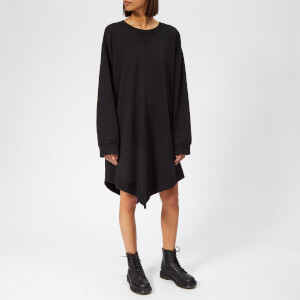 MM6 Maison Margiela Women's Angle Sweatshirt Dress - Black