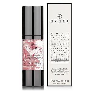 Avant Skincare Damascan Rose Petals Revitalising Facial Serum 30ml