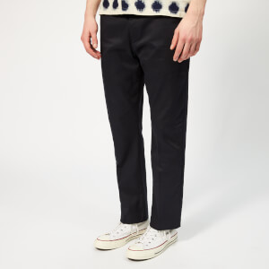Folk Men's Clean Twill Pants - Navy