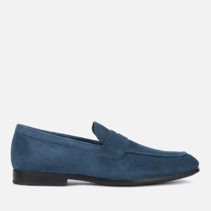 Tod's Men's Gomma Moccasin Shoes - Tirreno Scuro