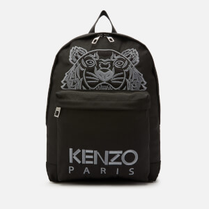 KENZO Men's Kanvas Tiger Rucksack - Black