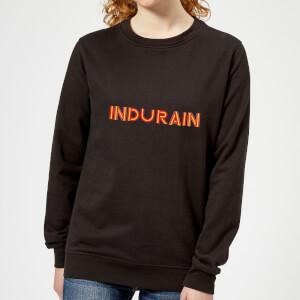 Summit Finish Indurain - Rider Name Women's Sweatshirt - Black