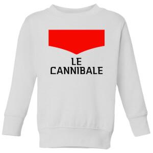 Summit Finish Le Cannibale Kids' Sweatshirt - White
