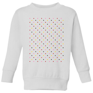 Summit Finish Grand Tour Dots Kids' Sweatshirt - White