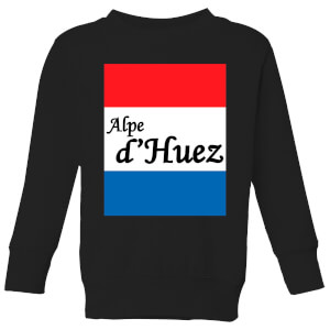 Summit Finish Alpe D'Huez Kids' Sweatshirt - Black