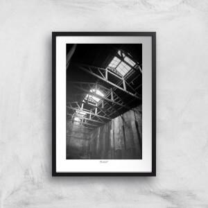 Thunderbolt Photography Plumbley Works Art Print