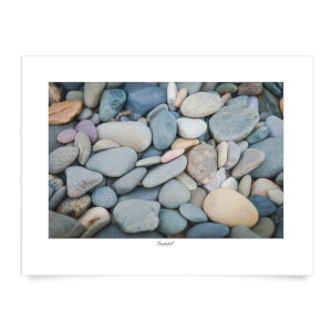 Thunderbolt Photography Talacre Pebbles Art Print