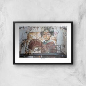Thunderbolt Photography Duke Of Lancaster Stern Art Print