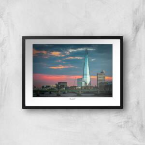 Thunderbolt Photography The Shard, London Art Print