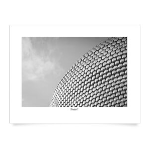 Thunderbolt Photography Birmingham Skyline Art Print