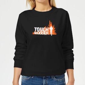 Tough Mudder Logo Women's Sweatshirt - Black