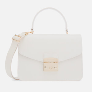Furla Women's Metropolis Small Top Handle Bag - White
