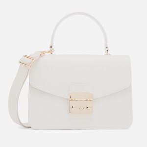 Furla Women's Metropolis Small Top Handle Bag - White