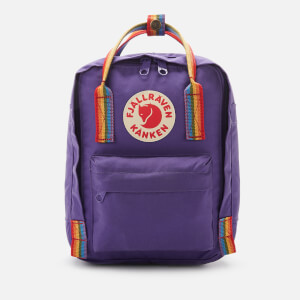 Fjallraven Women's Kanken Rainbow Mini - Purple