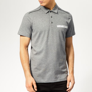 Plein Sport Men's Statement Polo Shirt - Grey