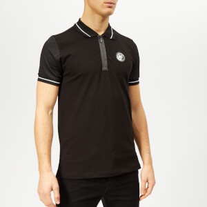 Plein Sport Men's Statement Polo-Shirt - Black/White