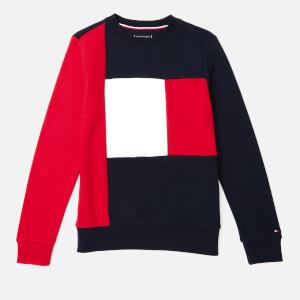 Tommy Hilfiger Boys' Colorblock Sweatshirt - Lychee