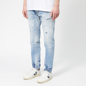 Dsquared2 Men's Cigarette Jeans - Blue