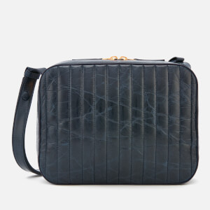 Victoria Beckham Women's Quilted Camera Bag - Blue