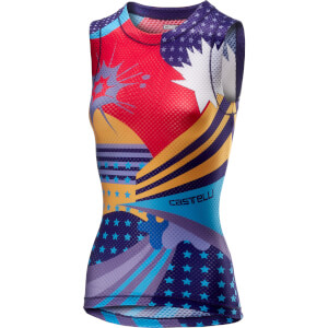 Castelli Women's Pro Mesh Sleeveless Baselayer - Purple