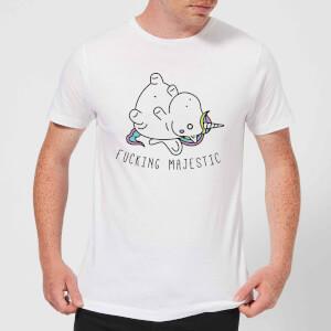 F***ing Majestic Men's T-Shirt - White