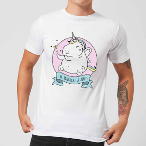 Be Magical & S*** Men's T-Shirt - White