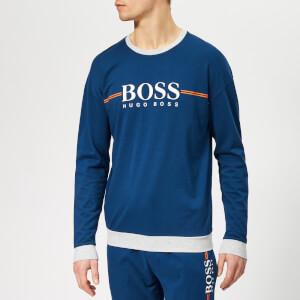 BOSS Men's Authentic Sweatshirt - Bright Blue
