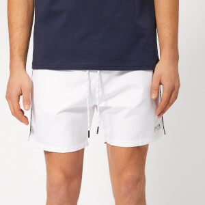 BOSS Men's Starfish Swim Shorts - White