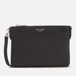 Kate Spade New York Women's Margaux Medium Convertible Cross Body Bag - Black