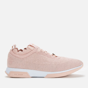 Ted Baker Women's Lyara Knitted Runner Style Trainers - Pink
