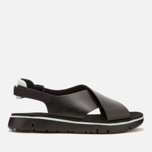 Camper Women's Oruga Cross Front Sandals - Black