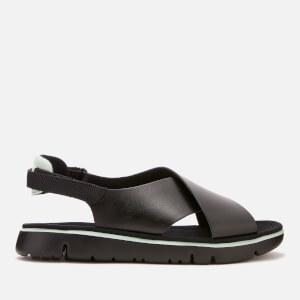 Camper Women's Oruga Cross Front Sandals - Black