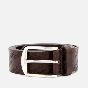 Emporio Armani Men's Smart Leather Belt - T.Moro