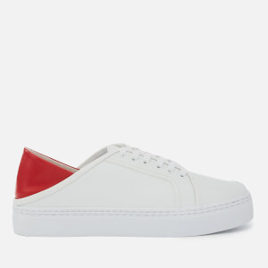 Senso Women's Avery III Leather Cupsole Trainers - Cherry