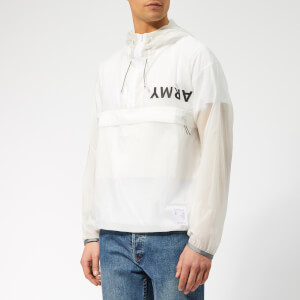 Satisfy Men's Anorak - Clear White