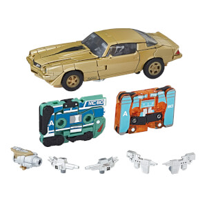 Hasbro Transformers: Studio Series 19 Bumblebee Vol. 1 Retro Rock Garage