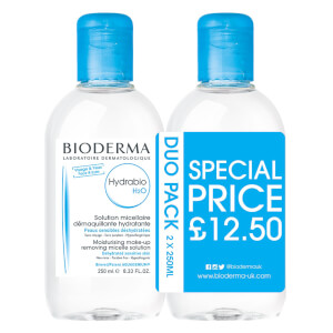 Bioderma Hydrabio H2O Cleanser Duo Pack 250ml