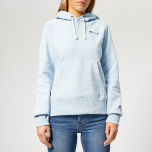 Champion Women's Hooded Sweatshirt - Blue
