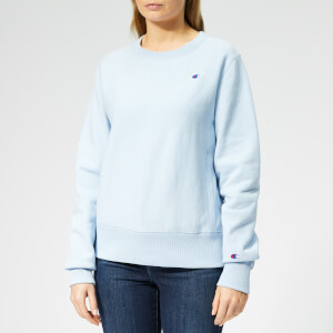 Champion Women's Crew Neck Sweatshirt - Blue