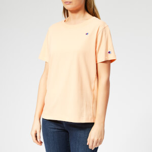 Champion Women's Crew Neck Short Sleeve T-Shirt - Orange