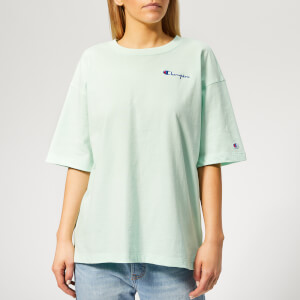Champion Women's Cropped Short Sleeve T-Shirt - Green