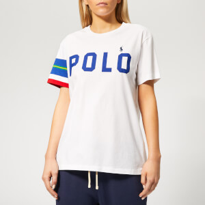 Polo Ralph Lauren Women's STR SLV T-Shirt - White